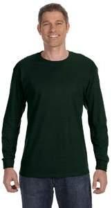 Gildan G5400 100% Cotton L-Sleeve Tee - M