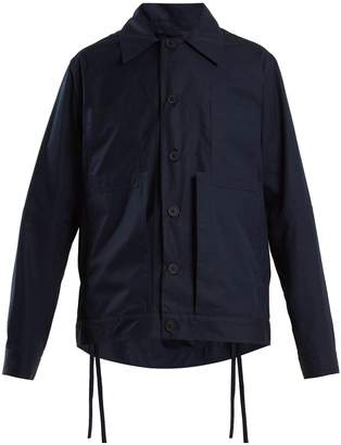 Craig Green Spread-collar cotton jacket