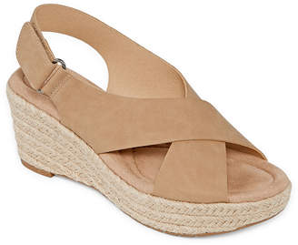 fdb871428f38 CL BY LAUNDRY CL by Laundry Womens Dino Wedge Sandals · JCPenney ...