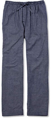 Derek Rose Checked Cotton-Flannel Pyjama Trousers
