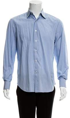 Lanvin Striped French Cuff Shirt