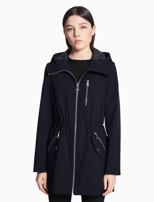 Calvin Klein soft shell zip jacket