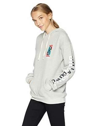 Billabong Women's Retro Logo Hooded Sweatshirt
