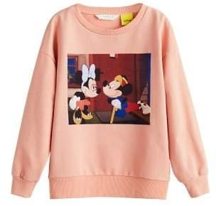 MANGO Velvet image Disney sweatshirt