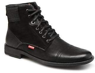 Levi's Men's Fowler Lace-up Ankle Boots in Black