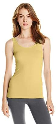 SkinnyTees Women's Basic Wide Strap Cami