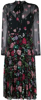 RED Valentino floral printed midi dress