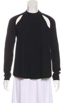 J.W.Anderson Wool Cutout Sweater Black Wool Cutout Sweater