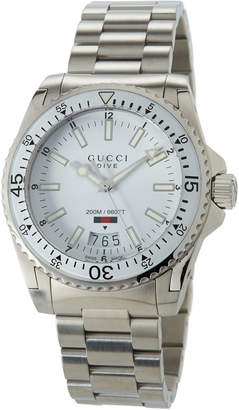 Gucci 40mm Men's Dive Bracelet Watch