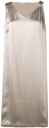 Fabiana Filippi tie neck midi dress