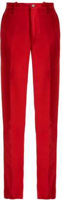 CONNOLLY High-rise crepe trousers