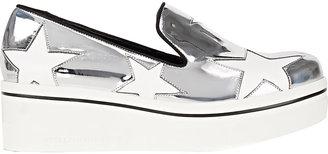 Stella McCartney Women's Binx Slip-On Platform Sneakers $565 thestylecure.com