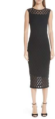 8dbff1469f Fuzzi Dot Tulle Pencil Dress