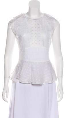 Isabel Marant Silk Embroidered Top w/ Tags