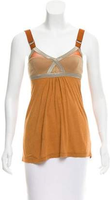 VPL Sleeveless Contrasted Top
