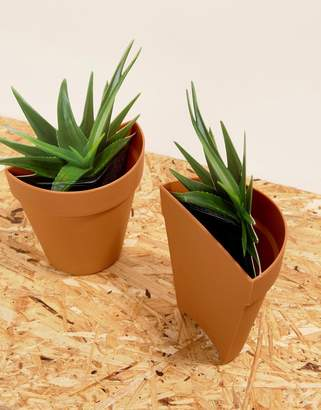 Suck UK SUCK Plant Planter Bookends
