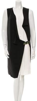 Gucci Layered Silk Dress Black Layered Silk Dress