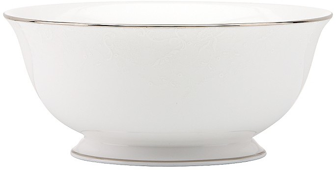 "Marchesa by Lenox ""Porcelain Lace"" Serving Bowl, 8.5"""