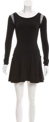 Elizabeth and James Long Sleeve Mini Dress