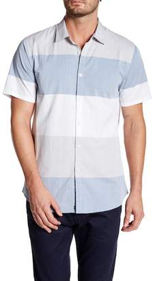 Micros Woven Striped Classic Fit Shirt