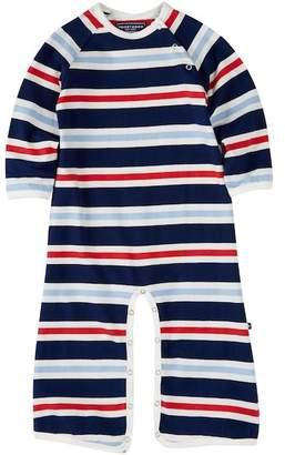 Toobydoo Bart Multi Stripe Jumpsuit (Baby Boys)