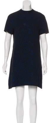 Proenza Schouler Short Sleeve Mini Dress