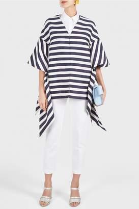 DELPOZO Bow Sleeve Coat