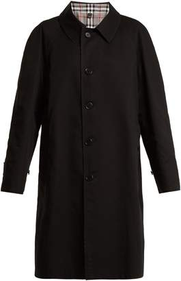 Burberry Unisex house-checked reversible coat