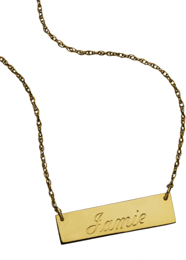 West Avenue Jewelry Jewelry ID Necklace