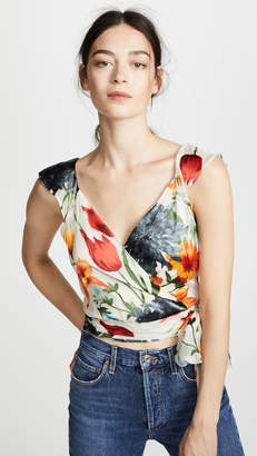 Alice + Olivia Nicole Crop Top