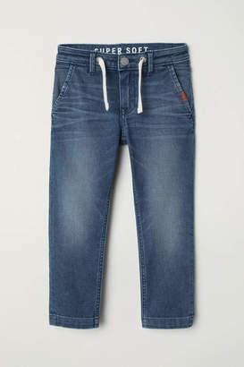 H&M Slim Fit Super Soft Jeans - Denim blue - Kids