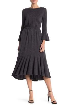 Joe Fresh Ruffle Trimmed Sweater Dress