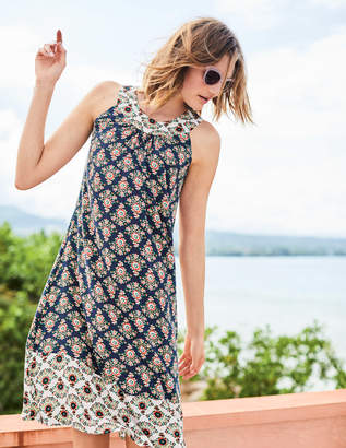 Boden Printed Swing Dress