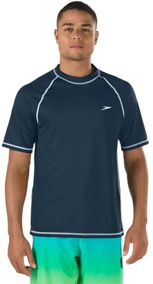 Speedo Men's Solid Swim Tee