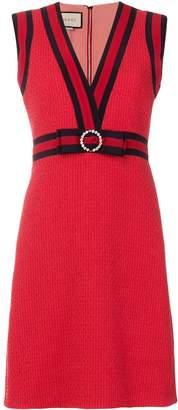 Gucci GG web shift dress