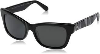 Kate Spade Women's Alora/P/S Polarized Cat-Eye Sunglasses