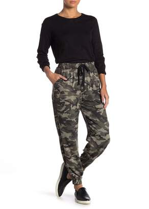 Know One Cares Camo Joggers