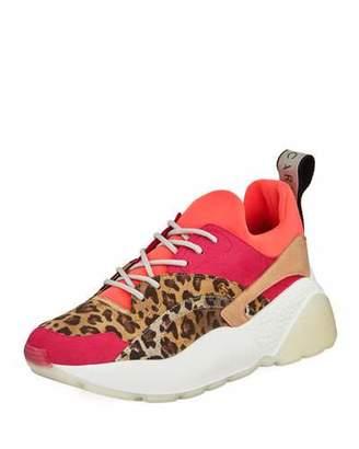 Stella McCartney Eclypse Trainer Animal Sneakers