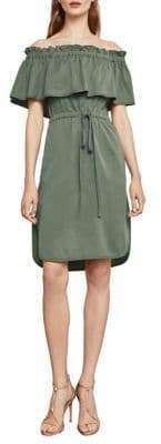 BCBGMAXAZRIA Evangellie Off-the-Shoulder Dress