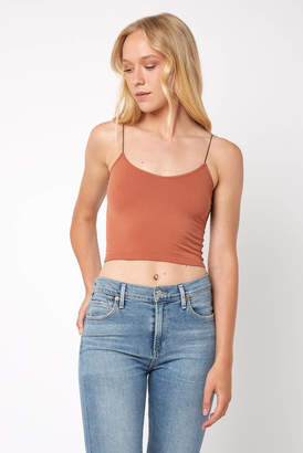 Free People Skinny Strap Cami Bra Top