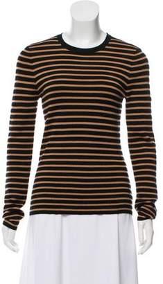 Michael Kors Striped Knit Top