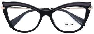 Miu Miu cat eye glasses