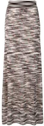 Missoni knitted patterned skirt