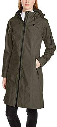 Ilse Jacobsen Women's Tall Plus Size Raincoat with Hood