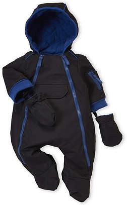 cfd6b749d Urban Republic Newborn Boys) Black Hooded Pram Suit