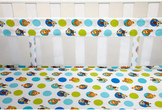 Disney Finding Nemo 4-Pc. Graphic-Print Crib Liner Set Bedding