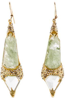 Alexis Bittar Quartz & Crystal Drop Earrings $125 thestylecure.com