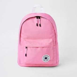 River Island Girls pink Converse backpack