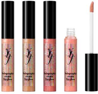 ybf beauty ybf Holographic Cream Lip Gloss 4-piece Set