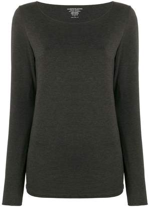 Majestic Filatures round neck jersey top